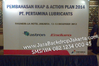 Backdrop Gathering Pertamina Lubricants