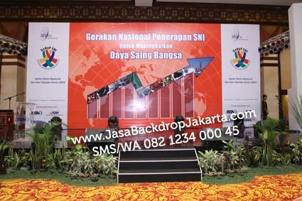 Jasa Pembuatan Backdrop Murah di Jakarta Selatan
