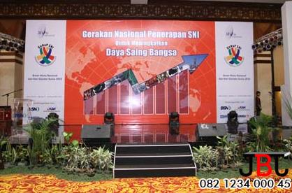 Jasa Pembuatan Backdrop Panggung di Bogor