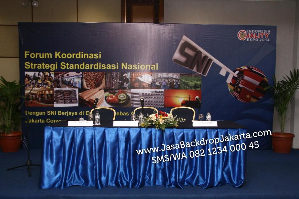 Jasa Pembuatan Backdrop Panggung di Jakarta Pusat