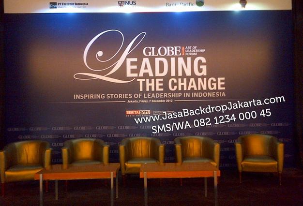 Tempat dan Jasa Pembuatan Backdrop Seminar di Bogor