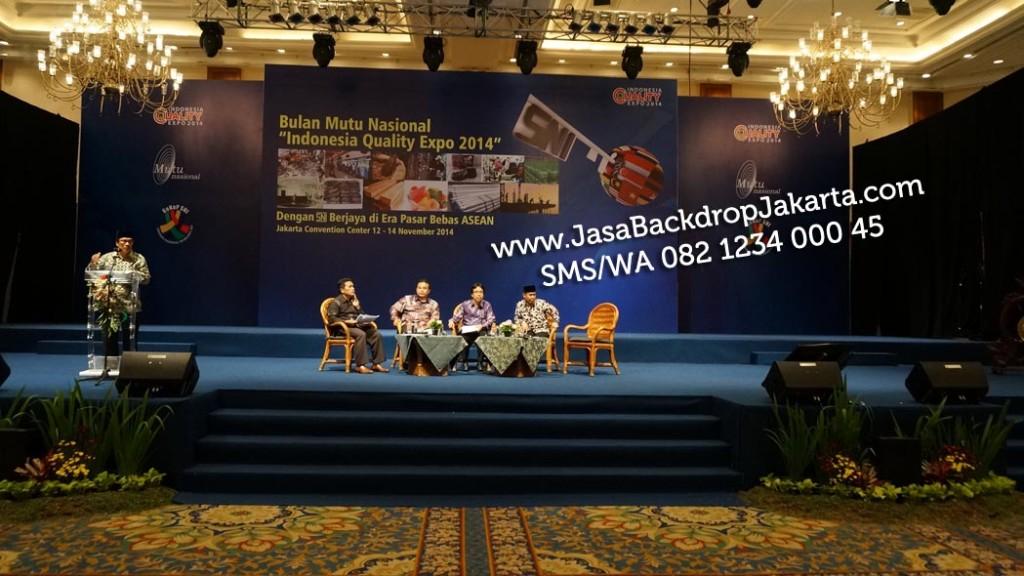 Tempat dan Jasa Pembuatan Backdrop Seminar di Jakarta Timur