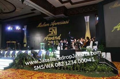 Tempat dan Jasa Pembuatan Backdrop Seminar di Tangerang