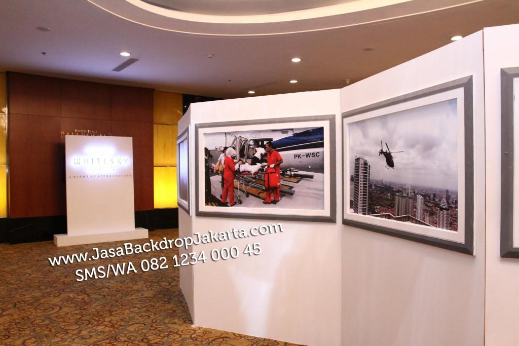 Jasa Pembuatan Backdrop Pameran di Jakarta Selatan