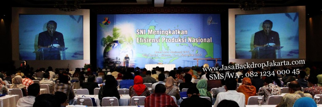 Jasa Backdrop di Balai Kartini