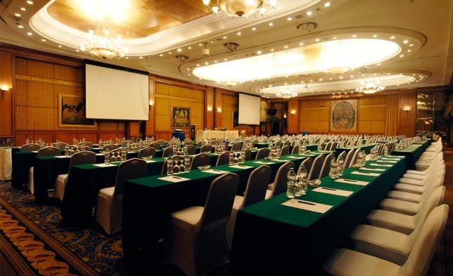 jasa backdrop hotel Sultan jakarta 1