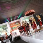 Backdrop, frame screen & Cat Walk Sriwijaya Heritage