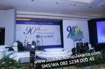 Backdrop & Panggung Ulang Tahun PT Jawattie